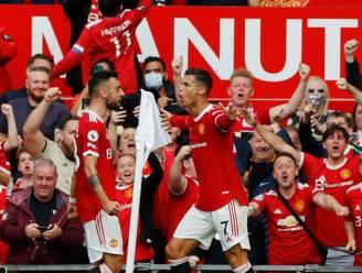 Cristiano Ronaldo effent bij rentree op Old Trafford met twee goals het pad voor United in 4-1-zege tegen Newcastle