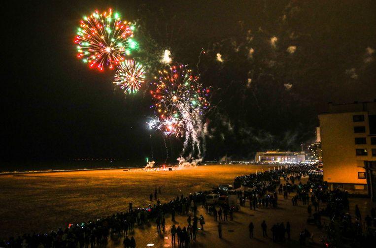 Het vuurwerk op het Groot Strand keert terug na een jaartje afwezigheid.