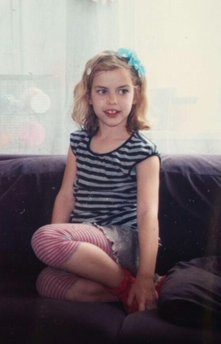 Foto van Sharleyne uit het privéarchief van vader Victor.  Beeld Victor Remouchamps