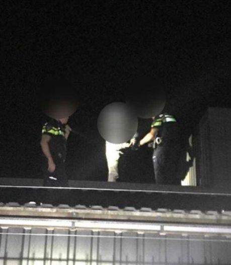 Inbreker in Elburg probeert met 'camouflagetechniek' arrestatie te voorkomen