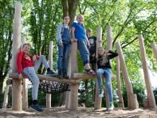 Speelplaats De Strijene in het nieuw: 'Het allerleukste vind ik de chillplek'