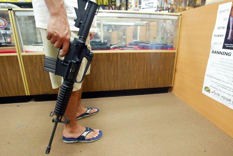 AR-15-wapen. Beeld Photo News