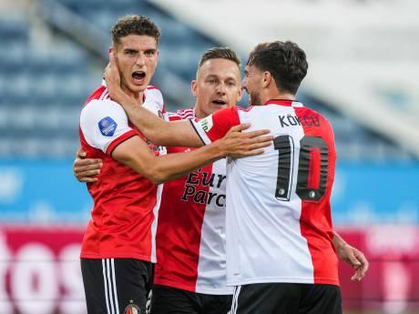 Feyenoord wint heenduel bij FC Luzern ruim door goals van Til en Sinisterra