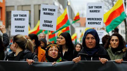 Duizenden demonstreren in Hanau na aanslag