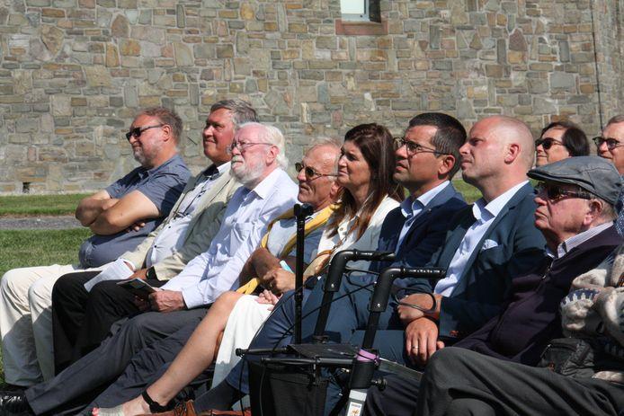94ste IJzerbedevaart in Diksmuide met onder meer politici Sander Loones en Theo Francken in het publiek.