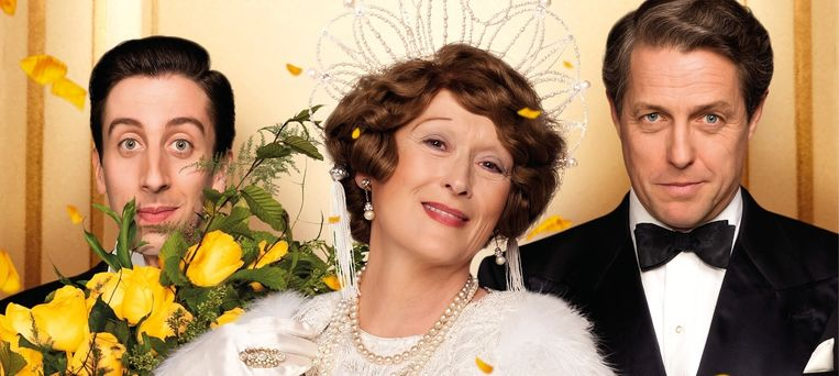 Meryl Streep als Florence Foster Jenkins. Beeld