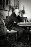 Ad van der Pas, geboren op 15 september 1918 te Haaren. Een van de mensen die Ank Leene portretteerde die ze 99 jaar waren. Woont in Drunen, voorheen ook in Vlijmen.