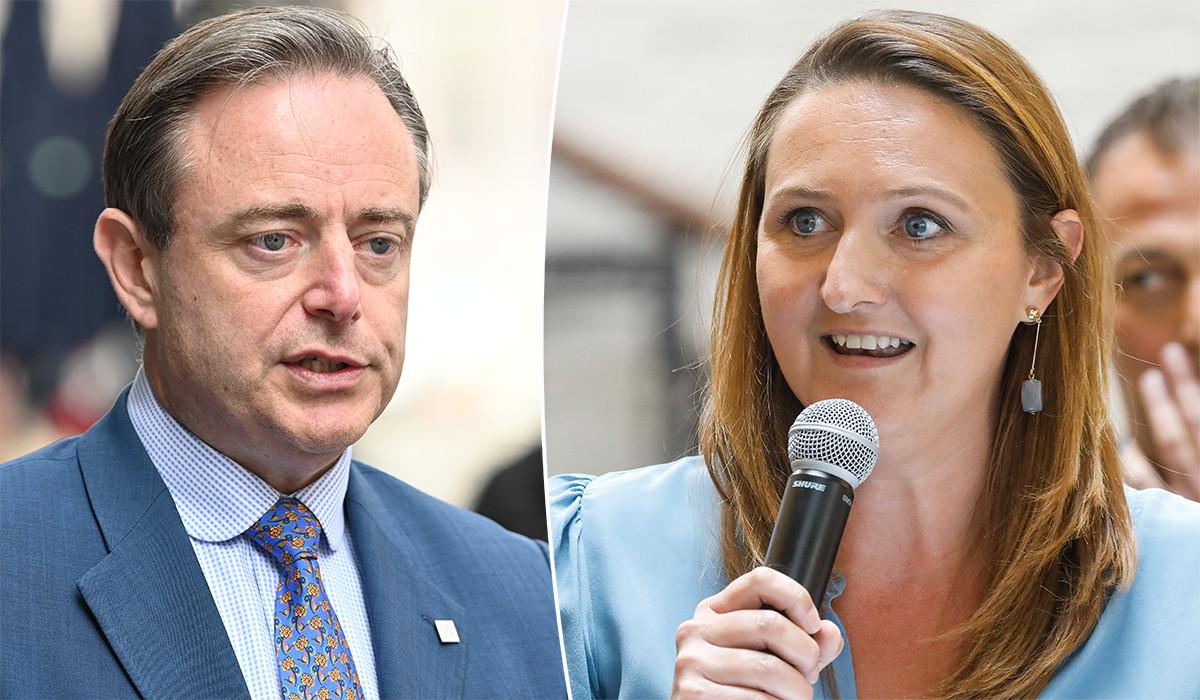 Bart De Wever en Gwendolyn Rutten.