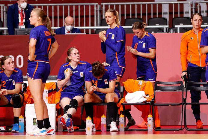 Balen voor Oranje, maar Frankrijk bleek veel te sterk.