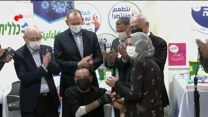 Heel Israël moet tegen het einde van maart gevaccineerd zijn.