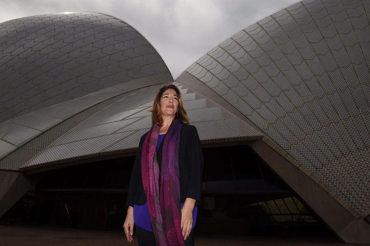 Naomi Klein werd in 1999 bekend met haar debuut No Logo, over de grote macht van multinationals. Beeld epa