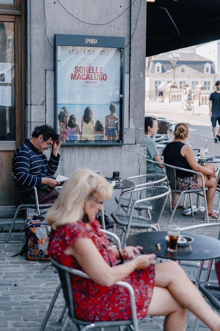 Cinema Sphinx in Gent. Beeld Wouter Van Vooren