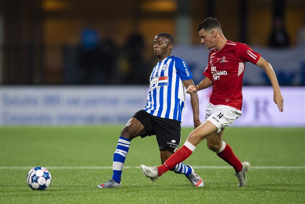 Kay van de Vorst speelde dit seizoen nog een volledige wedstrijd in de derby met FC Eindhoven.