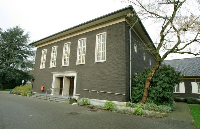 Het Officierscasino in Soesterberg.