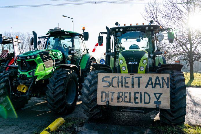 Boeren protesteerden de afgelopen maanden volop.