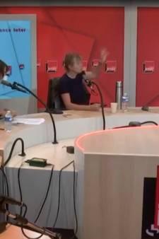Karin Viard refuse avec véhémence de porter un masque lors d'une émission radio