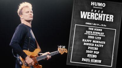 BEST OF WERCHTER. Hoe Sting het einde betekende van flesjes op festivals: de 20 meest memorabele concerten, deel 1