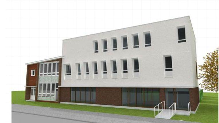 Een impressie van de nieuwbouw van Don Bosco.