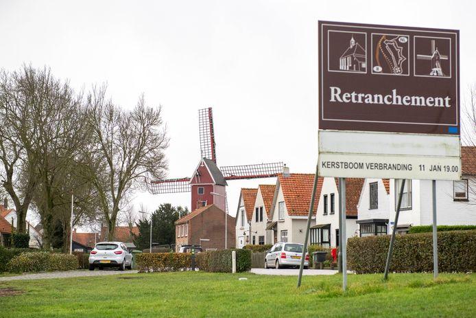 Retranchement, de groene gordel van Knokke.