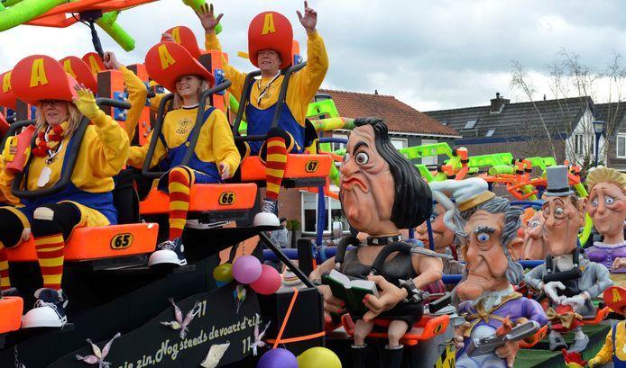 Zo uitbundig zal het er in Odijk dit jaar niet aan toegaan, maar het digitale carnaval gaat door.