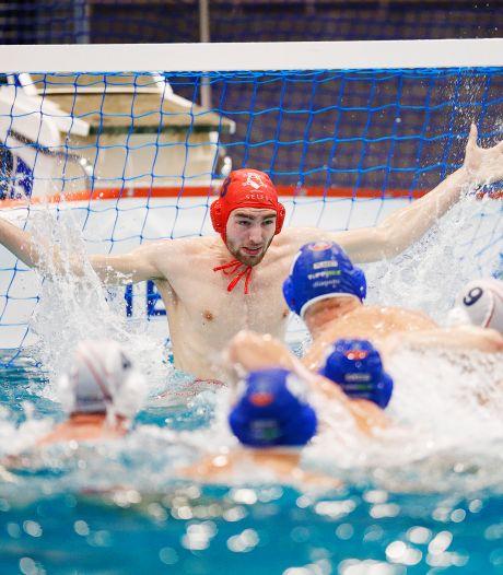 Doelman Miki Buitenhuis van UZSC geniet in Euro League: 'Echt een jongensdroom, supergaaf'