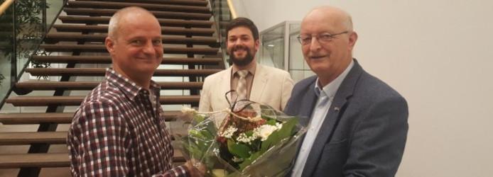 Bernard Tebrugge (l): 'Een aantal raadsleden maakt er een potje van'