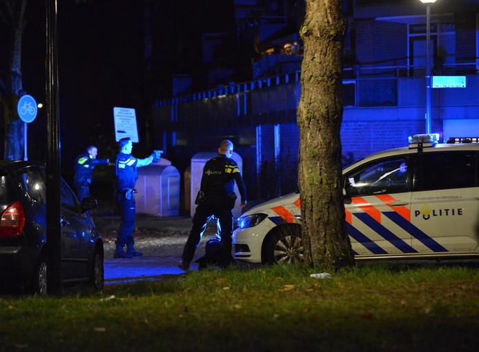 Man aangehouden bij de Donk in Breda