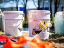 Drugsafval gedumpt in kanaal tussen Eindhoven en Geldrop