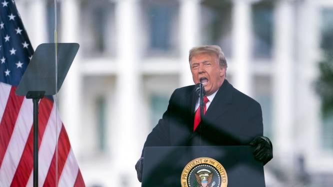 Trump naar rechter tegen overdracht documenten aan parlementaire commissie