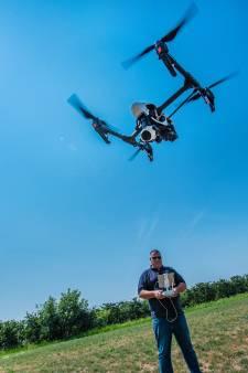 Waterschap Rivierenland jaagt met drone op overtreders sproeiverbod