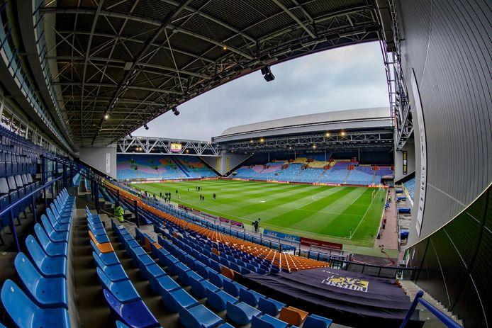 Stadion Gelredome is voorlopig leeg. Vitesse wil nu een forse huurverlaging.
