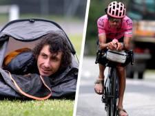 En sandales et dans une minuscule tente: le Tour de France en solo d'un coureur pro australien