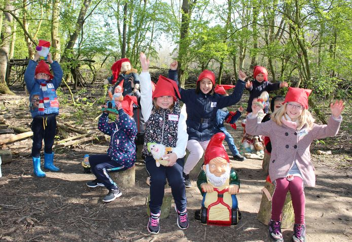 Kinderen zijn razend enthousiast over het kabouterbos, maar dat geldt niet voor klagende omwonenden.