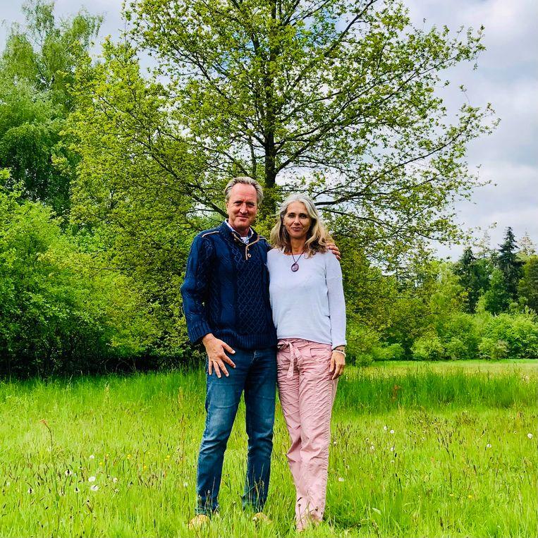 Tjeerd en Petra van Bekkum. Beeld Margriet Oostveen