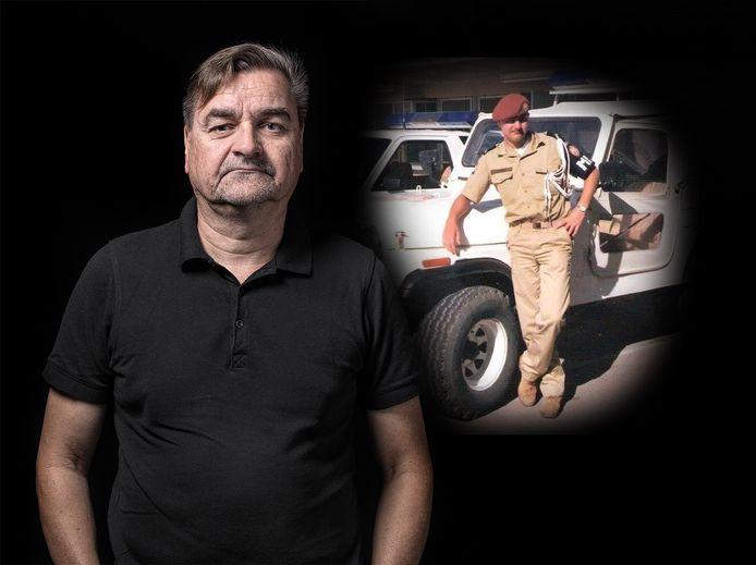 Rob Kasimier uit Ruinerwold is één van de honderd geportretteerde oorlogsveteranen in het boek 'Veteranen' van fotograaf Paul de Graaff.