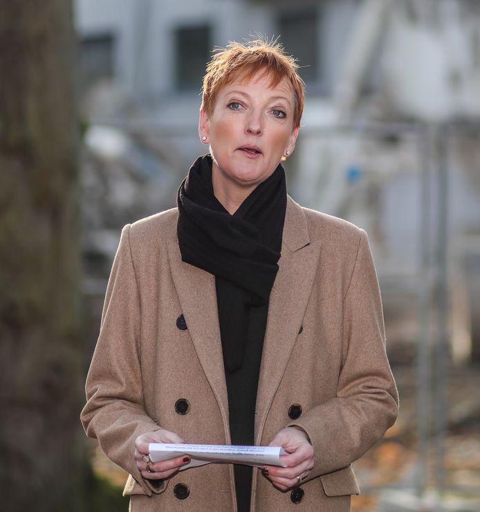Waarnemend burgemeester Marleen Kauffmann.