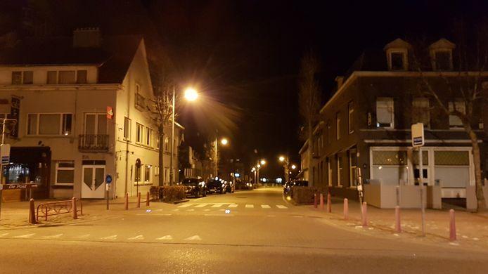 De Gravin Elisabethlaan zou afgesloten worden en hier zou het plein dan starten.
