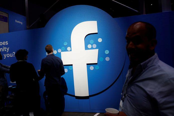 Het logo van Facebook