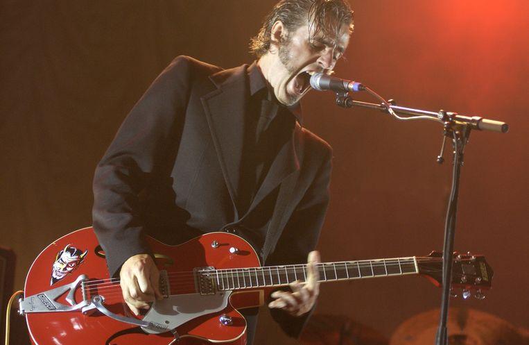 Triggerfinger in 2004. Beeld Alex Vanhee