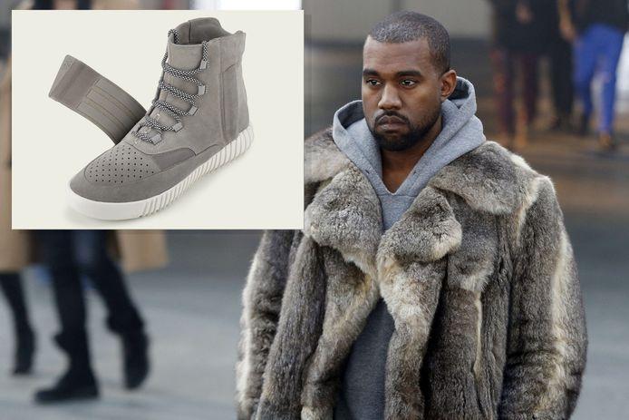 De Amerikaanse rapper Kanye West maakt speciaal voor Adidas een schoen, die de naam Yeezy Boost draagt.