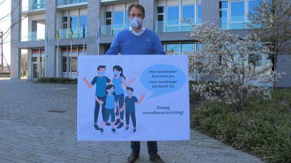 Vrijwilligers gezocht om mondmaskers te bedelen