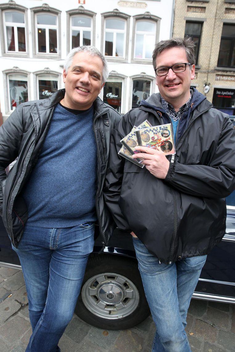 Yves Debast en Bertrand Demiddeleer stellen hun tweede cd van het seizoen voor.