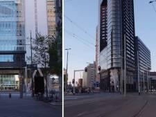 Verlaten stadhuis en een uitgestorven centrum: zo stil is het tijdens ochtendspits in Den Haag