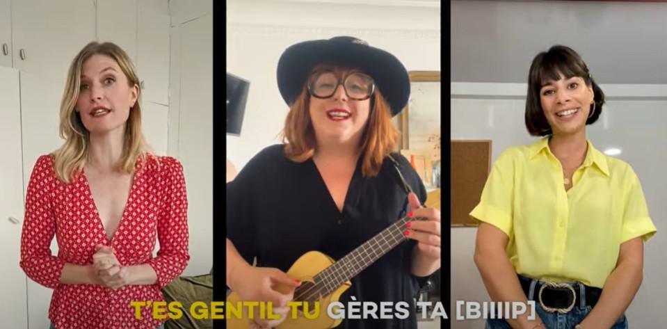Juliette Faucon, Lola Cès et Marie Facundo alias Les Coquettes.