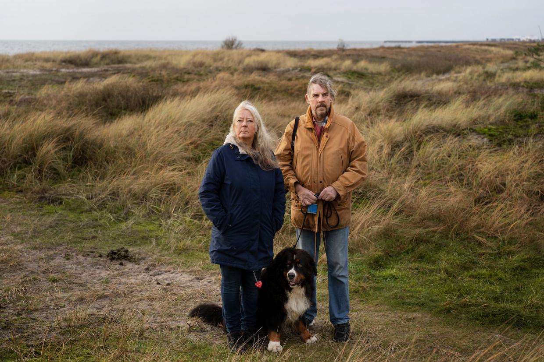 Ingrid Wall, met echtgenoot Joachim: 'We zullen allicht nooit weten wat er echt gebeurd is. Mijn gedachten stoppen zodra Kim die duikboot opstapt.' Beeld Charlotte de la Fuente