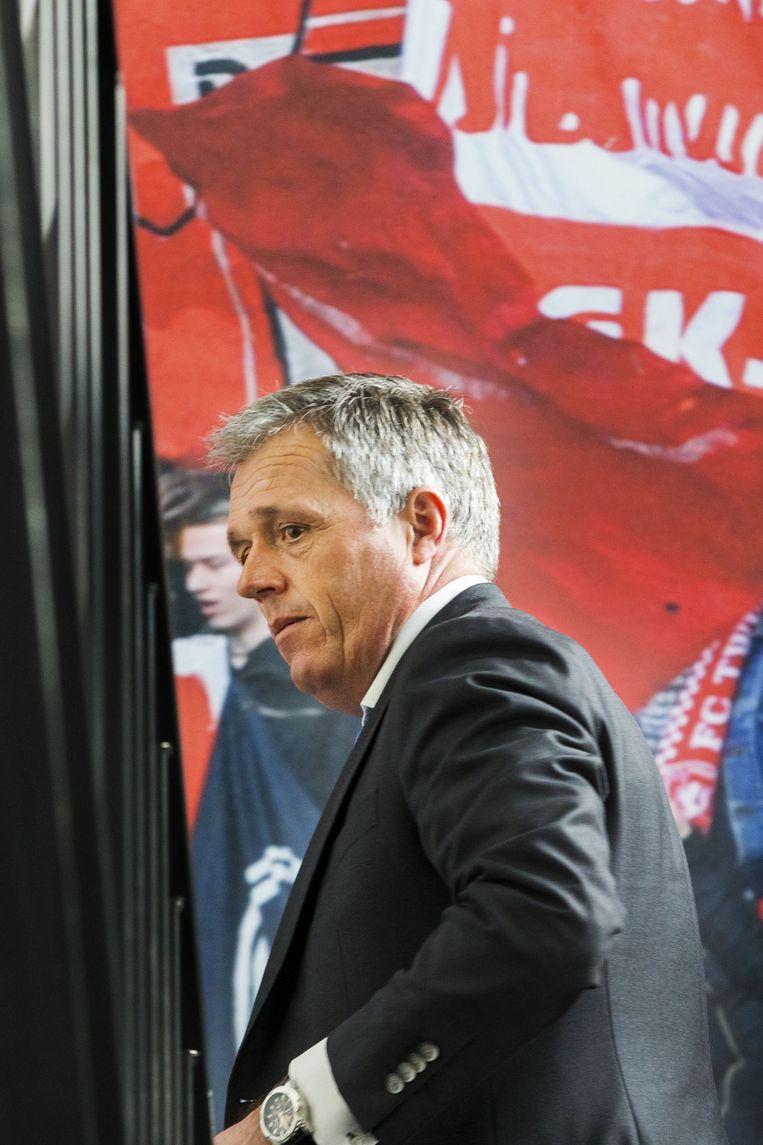 Interim-directeur Onno Jacobs van FC Twente Beeld anp