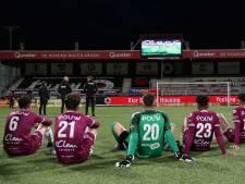 GA Eagles wacht in Rotterdam op slot De Graafschap: 'Wat een spanning'