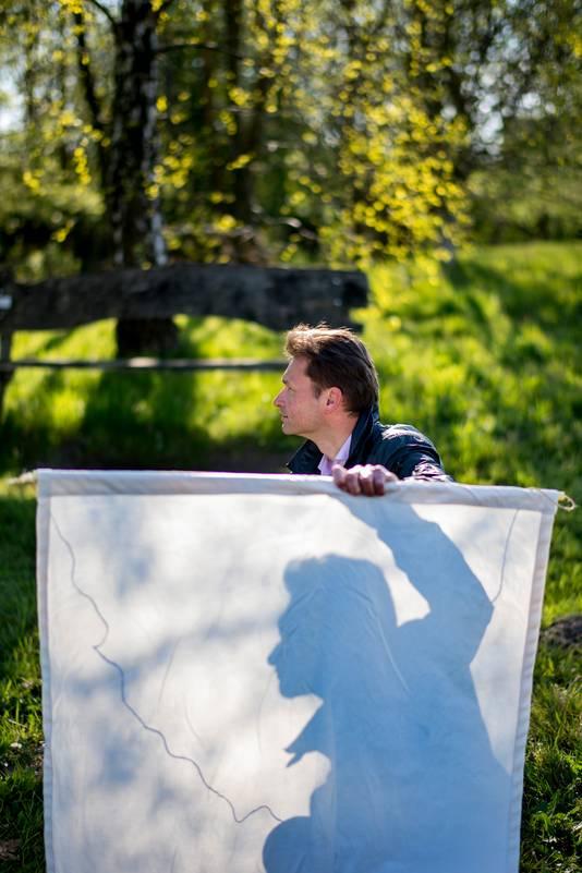 Bioloog Arnold van Vliet van de Wageningen Universiteit is een van de initiatiefnemers van de nieuwe app van NatureToday.