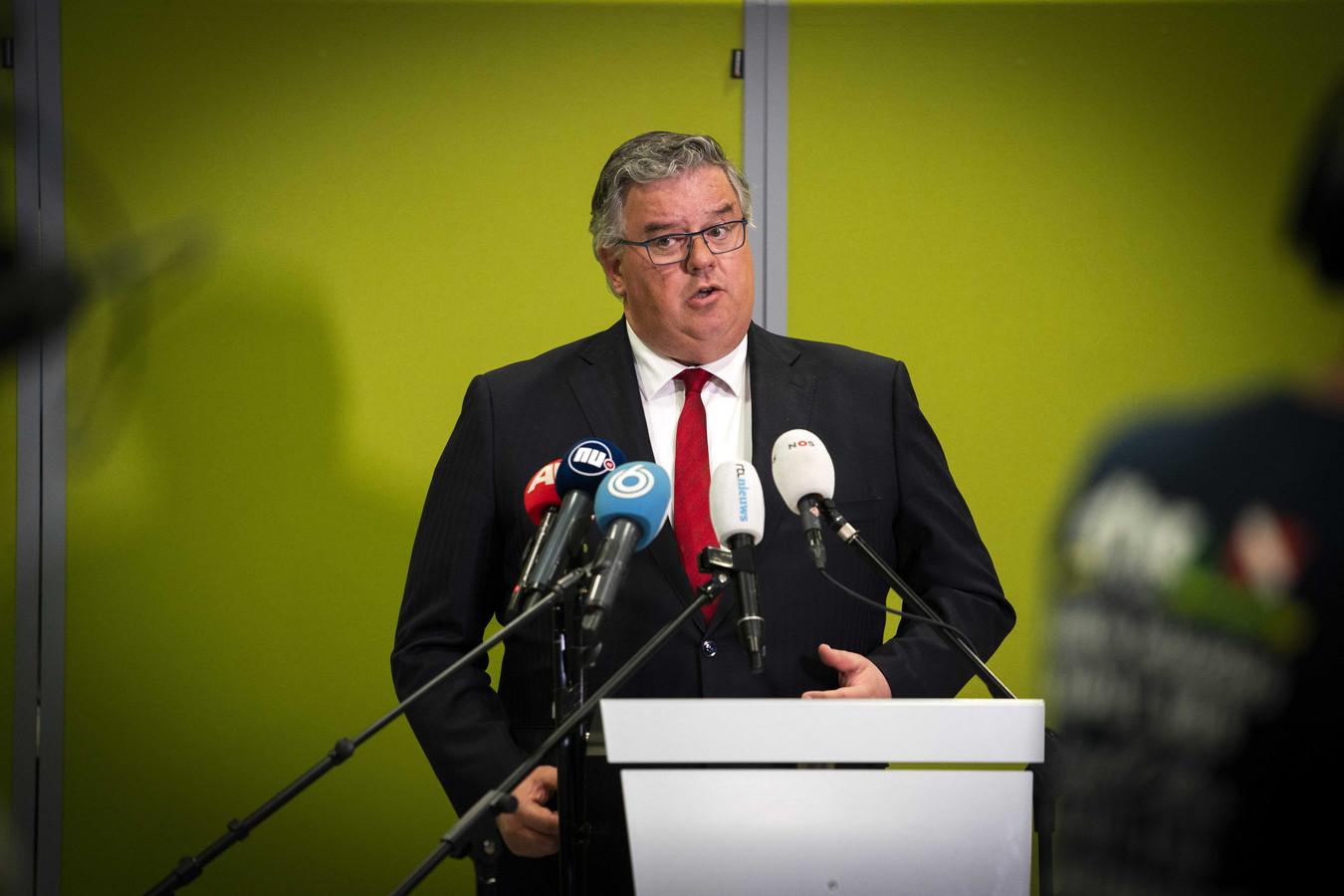 De Nijmeegse burgemeester Hubert Bruls, voorzitter van het Veiligheidsberaad.