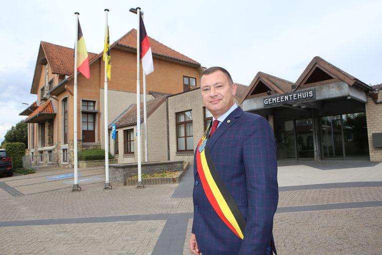 Burgemeester Peter Reekmans is voorstander van de vreemdelingentaks.